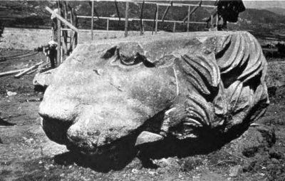 Ο Λέων της Αμφίπολης δεν ήταν ενιαίο γλυπτό αλλά αποτελούνταν από διαφορετικά κομμάτια